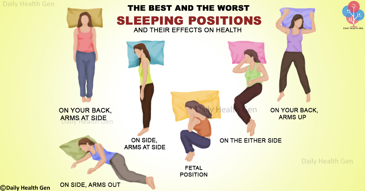 The Best (and Worst) Positions for Sleeping